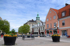 Karlskrona, main city square - June 07 Royalty Free Stock Images
