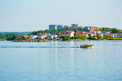 Karlskrona in the morning sun Stock Images