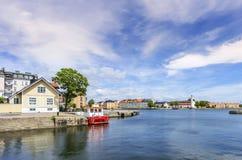 Karlskrona Schweden Arkivfoto