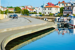 Karlskrona by the water. Royalty Free Stock Photos