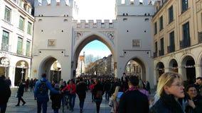 Karlsplatz Мюнхена Стоковое Изображение