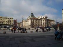 Karlsplatz de Munich Fotografía de archivo