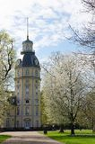 Karlsruhe castle tower Royalty Free Stock Images