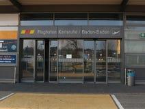 Karlsruhe December 2 2017, Baden-Baden Airport Baden Airpark Arkivfoto