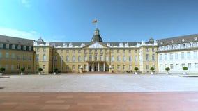 Karlsruhe germany Olika härliga sikter av den gamla staden och omgivningen arkivfilmer