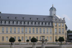 Karlsruhe Palace. Although the Allied bombed this beautiful castle during world war II they soon rebuilt it successfully. Originally it was made of wood. But Stock Photography