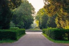 Karlsruhe Palace Botanical Garden Park Urban City Walking Nature Royalty Free Stock Image