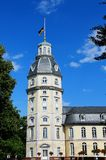 Karlsruhe palace tower Royalty Free Stock Photos