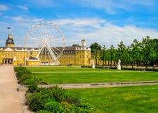 Karlsruhe-Palast Lizenzfreie Stockfotos