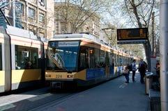 Karlsruhe traffic Royalty Free Stock Image