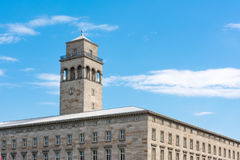 Karlsruhe Volkswohnung Building Apartment Residential Constructi Stock Photography