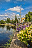 Karlstad city Stock Photos
