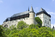 Karlstein. Big castle in czech republic Stock Photo