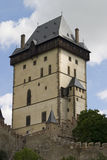 Karlstein Castle Tower Stock Photography