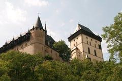 Karlstein Festung stockbild