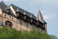 Karlstein Fortress, Czech Republic royalty free stock images
