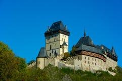 Karlstein Schloss Stockbild
