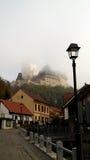 Karlstein-Schloss Stockbild