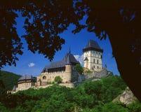 Karlstejn城堡02 库存图片