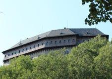 Karlstejn城堡 库存照片