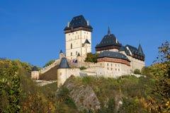 karlstejn замока стоковое изображение