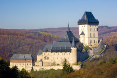 Karlstejn Castle Royalty Free Stock Photos