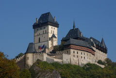 Karlstejn Castle. Near Prague, Czech Republic Royalty Free Stock Photography