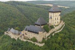 Karlstejn Castle Στοκ Εικόνες