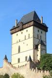 Karlstejn Castle Στοκ Φωτογραφίες