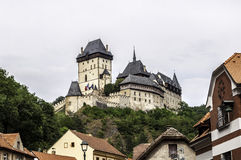 Karlstejn Castle. Royalty Free Stock Photos
