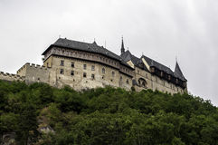 Karlstejn Castle. Stock Image