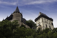 Karlstejn Castle. Stock Photos