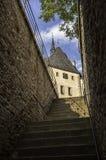 Karlstejn castle. Royalty Free Stock Image