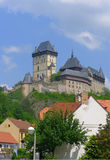 Karlstejn castle, Czech Republic Stock Photo