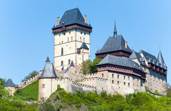 Karlstejn Castle in Czech Republic Stock Photo