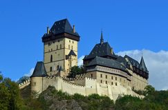 Karlstejn Castle, Karlstejn, Czech Republic Stock Photo