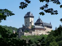 Karlstejn Castle Royalty Free Stock Images