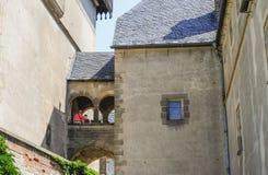 Karlstejn Castle Stock Photo