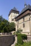 Karlstejn Castle tower Stock Photo