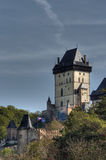 Karlstejn - Gothic castle Stock Image