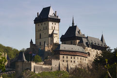 Karlstejn - Gothic castle Royalty Free Stock Photos
