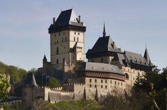 Karlstejn - Gothic castle Royalty Free Stock Photos