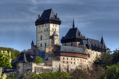 Karlstejn - gothic castle Royalty Free Stock Photography