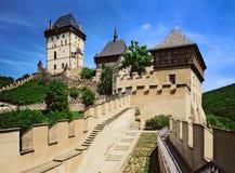 Karlstejn-Schloss 01 Lizenzfreies Stockfoto