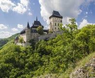Karlstejn-Schloss Stockfotografie