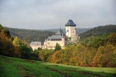 Karlstejn Schloss Stockfoto