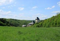 Karlstejn Schloss Stockfotos