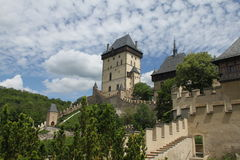 Karlstejn Schloss Lizenzfreies Stockbild