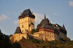 Karlstejn Schloss Lizenzfreie Stockbilder