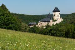 Karlstejn slott Royaltyfria Foton